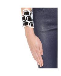 Pierre Hardy | Black Enameled Cuff Bracelet | Lyst