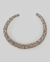 Alexis Bittar - Metallic Nova Crystal Hinge Collar Necklace - Lyst
