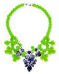 EK Thongprasert - Green Crystal Drop Necklace - Lyst