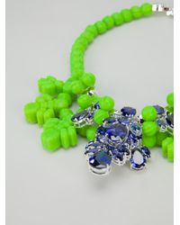 EK Thongprasert - Green Crystal Drop Necklace - Lyst