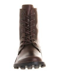 Fly London   Brown Marv Lace Up Ankle Boot   Lyst