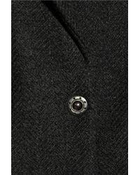 See By Chloé | Black Woolblend Tweed Coat | Lyst