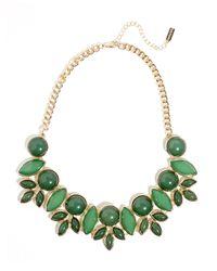 BaubleBar | Green Bell-flower Collar | Lyst