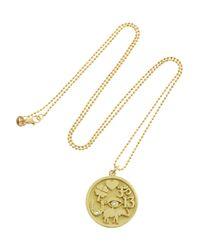 Jennifer Meyer - Metallic Good Luck 18-Karat Gold Diamond Necklace - Lyst