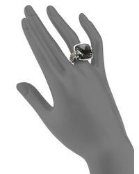 John Hardy | Metallic Green Amethyst Sterling Silver Ring | Lyst