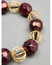 Marni - Purple Marni Beaded Necklace - Lyst