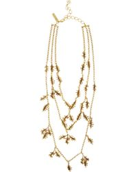 Oscar de la Renta | Metallic Coral-Branch Necklace | Lyst