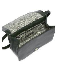 Rebecca Minkoff - Green Perry Moto Shoulder Bag - Lyst