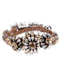 Shourouk - Brown Baraka Rococo Bracelet - Lyst