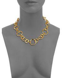 Stephanie Kantis | Metallic Coronation Large Chain Necklace/18 | Lyst