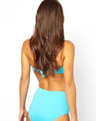 Tatty Devine - Blue Asos Mix and Match High Waisted Bikini Pant - Lyst