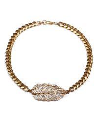 Lulu Frost - Multicolor Goldtone Drift Necklace - Lyst