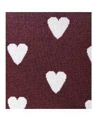 Burberry Prorsum - Purple Silkblend Sweater - Lyst