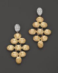 Marco Bicego - Yellow Siviglia Diamond Earrings - Lyst