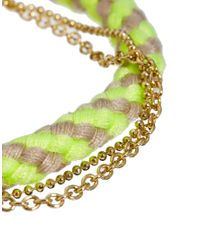 ASOS - Multicolor Asos Striped Friendship Bracelet - Lyst