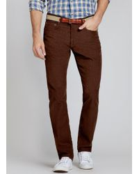Bonobos | French Corders Brown for Men | Lyst