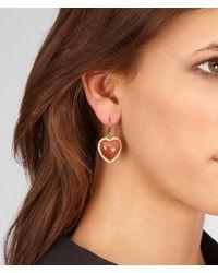 Bottega Veneta - Metallic Verre Irise Earring - Lyst