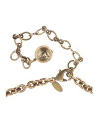 Lanvin - Metallic Cool Necklace - Lyst