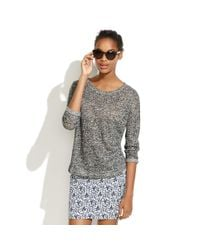 Madewell | Gray Landscape Cardigan Sweater | Lyst