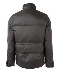 Paul Smith - Dark Green Hooded Down Jacket for Men - Lyst