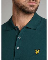 Lyle & Scott | Green Crew Neck T Shirt for Men | Lyst