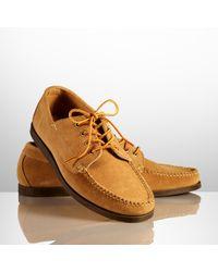 Ralph Lauren | Brown Tahoma Suede Shoe for Men | Lyst