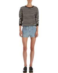 A.P.C. - Blue Pocket Shorts - Lyst