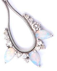 Fernando Jorge - Metallic Diamond Opal Gold Electric Loop Earrings - Lyst