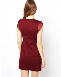 Traffic People | Textured Shift Dress | Lyst