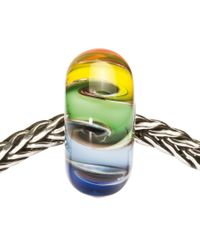 Trollbeads - Multicolor Chakra Colours Glass Bead - Lyst