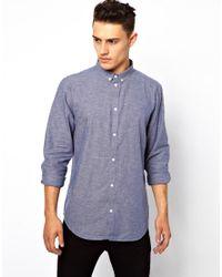 Cheap Monday - Blue Damon Shirt for Men - Lyst