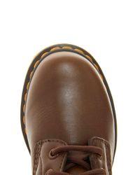 Dr. Martens - Serena Brown Sheepskin 8eye Boots - Lyst