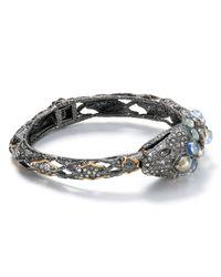 Alexis Bittar - Metallic Jardin De Papillon Snake Hinge Bracelet - Lyst