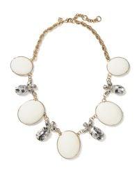 Banana Republic - White Starlet Necklace - Lyst