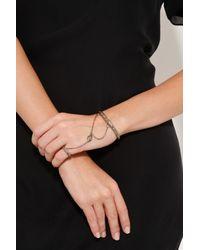 Pamela Love - Metallic Eye Ring and Bracelet Piece - Lyst