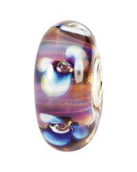 Trollbeads | Purple Aurora Flowers Glass Bead | Lyst