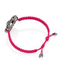 Swarovski - Red Pink Bracelet - Lyst