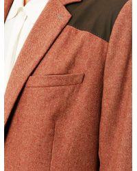 Veronica Beard | Red Removable Dickie Herringbone Blazer | Lyst