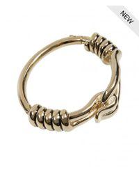 AllSaints | Metallic Mika Bracelet | Lyst