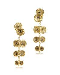 Bernard Delettrez | Metallic Bronze 4 Owls Earrings | Lyst