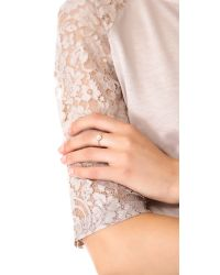 Ginette NY - Metallic Diamond Star Ring - Lyst