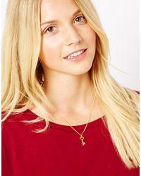 ALDO - Metallic Laura Lee Exclusive For Asos Key Necklace - Lyst