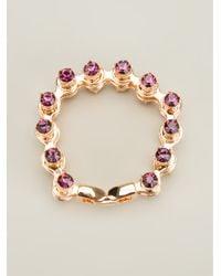 Mawi - Metallic Bike Chain Bracelet - Lyst