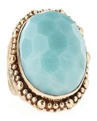 Stephen Dweck | Blue Amazonite Ring | Lyst