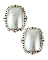 Stephen Dweck | Metallic Motherofpearl Stud Earrings | Lyst
