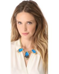 Alexis Bittar - Metallic Large Butterfly Necklace - Lyst
