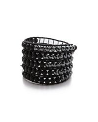 Chan Luu | Black Beaded Wrap Bracelet | Lyst