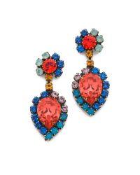 DANNIJO - Multicolor Cruz Earrings - Lyst