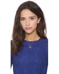 Elizabeth and James - Metallic Northern Star Open Pendant Necklace - Lyst