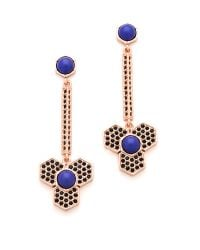 Giles & Brother - Pink Hex Dangle Earrings - Lyst
